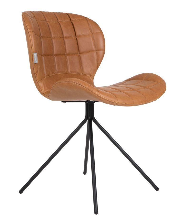 OMG stoel - Zuiver - LL bruin