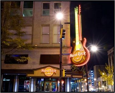 Menu For Hard Rock Cafe Myrtle Beach South Carolina