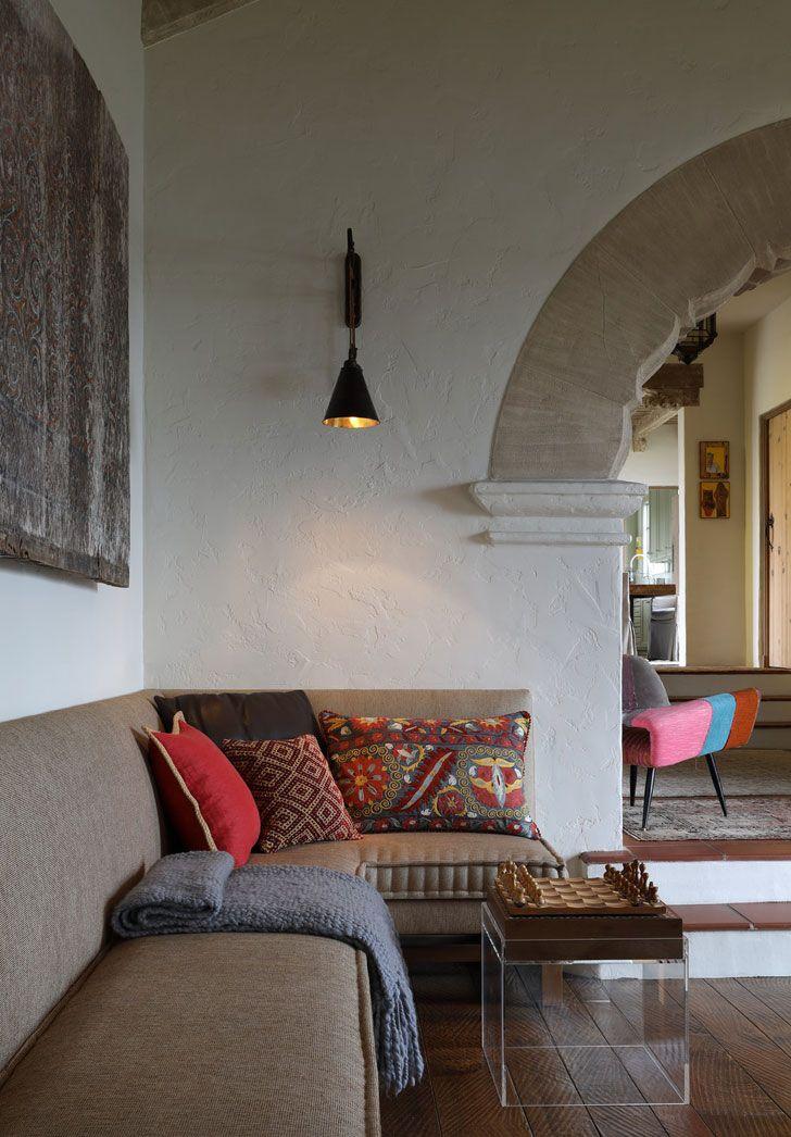 Дом в колониальном стиле в Сан-Франциско | Дизайн в испанском стиле фото