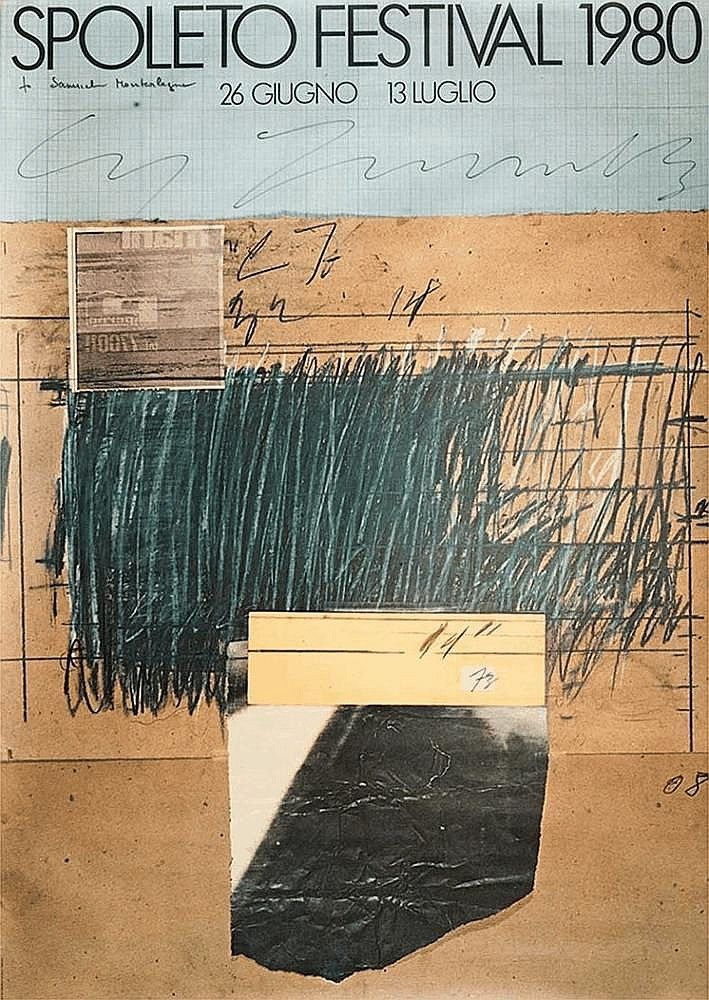 """Festival Spoleto - """"Cy"""" Twombly - by Minerva Auctions"""