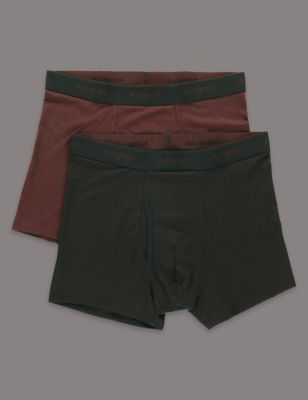 Your outfit starts with these comfortable trunks. Made from extra luxurious Supima® cotton.