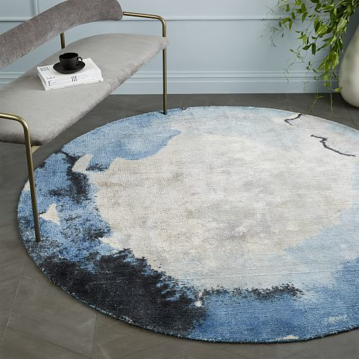Watermark Rug - Round (Frost Gray) in 2018 Xαλια Rugs, Living