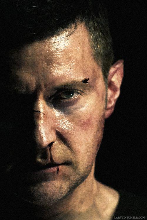 #RichardArmitage as The Red Dragon in Hannibal season 3.