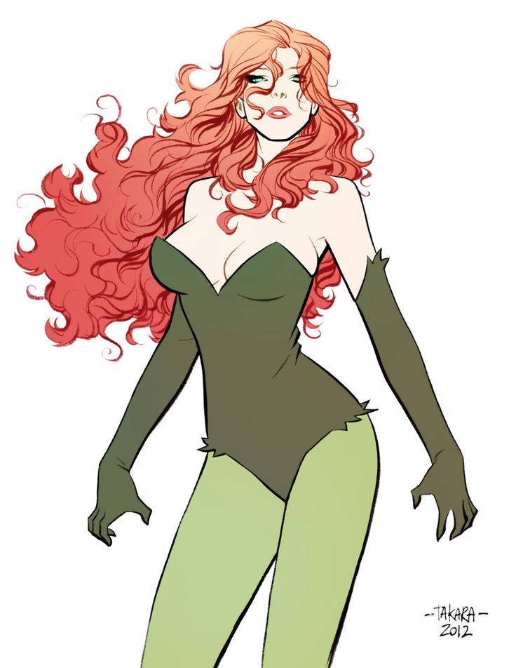 commission - Poison Ivy - color by *marciotakara on deviantART