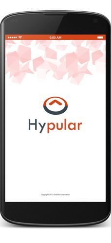 Hypular is an interest based app which provides with the popular products in market. Use Hypular to find fashion trend, new book releases, latest electronic gadgets in market. Hypular helps to pamper yourself with latest beauty care products. We offer the best collections of popular products available in the market for Books, Fashion, Beauty & Electronics. You will receive daily notifications on new releases. You can mark your favourites. Recommend products by rating and comments.