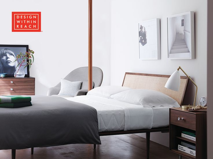 Nelson Thin Edge Bed George Nelson Bed Design And Nelson FC - Herman miller bedroom furniture