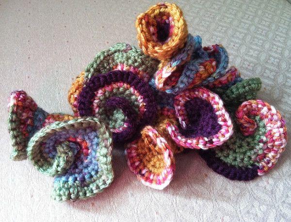 15 tutoriales gratis de Freeform Crochet (en inglés)
