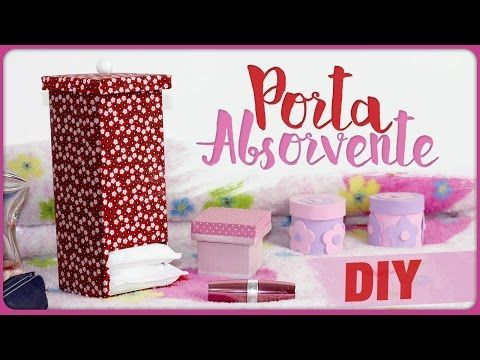 Porta Absorvente =DiY - YouTube