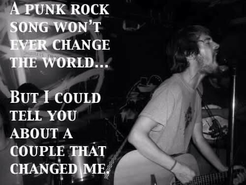 Don't you ever fuckin' hate on punk rock! #punkrock #rocktillidie