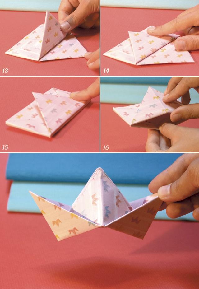DIY Chapéu de Papel  http://www.chapeudepapel.com/2012/10/regua-papel-tesoura.html