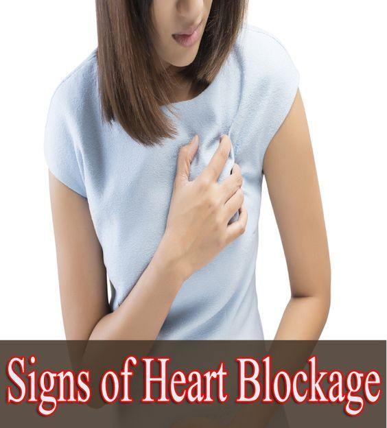 Signs of Heart Blockage:
