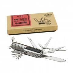 Fickkniv med multiverktyg