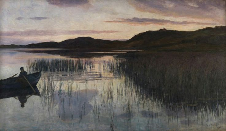 "Kitty Kielland  ""Evening"""