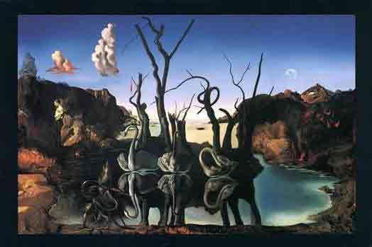 Dali - Swans Reflecting Elephants. This is my fav Dali