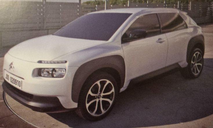 Citroën Cactus Prototype                                                                                                                                                                                 もっと見る