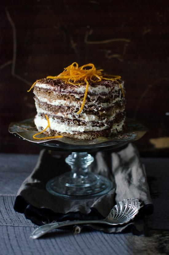 Jamie Oliver's Tiramisu with Orange Zest and Dessert Wine. mmm