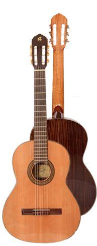 Ver Modelo B20 Guitarra Clásica del Constructor Francisco Bros, en el Blog de guitarra Artesana