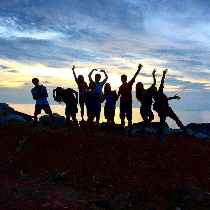 Our local expert reveals her secret spot for the best views of the sunset @ @ Sekinchan.  Come #meetloka at #lokalocal.  #sekinchan #selangor # malaysia #tourismmalaysia #MyMalaysia #travelgram #instatravel #malaysiatrulyasia #cuticutimalaysia #goasean #igersmy #wanderlust #sunset