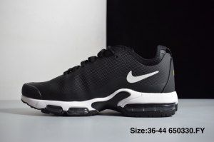 03dda3347b2d Nike Mercurial Air Max Plus Tn SE Black White Mens Womens Running Shoes