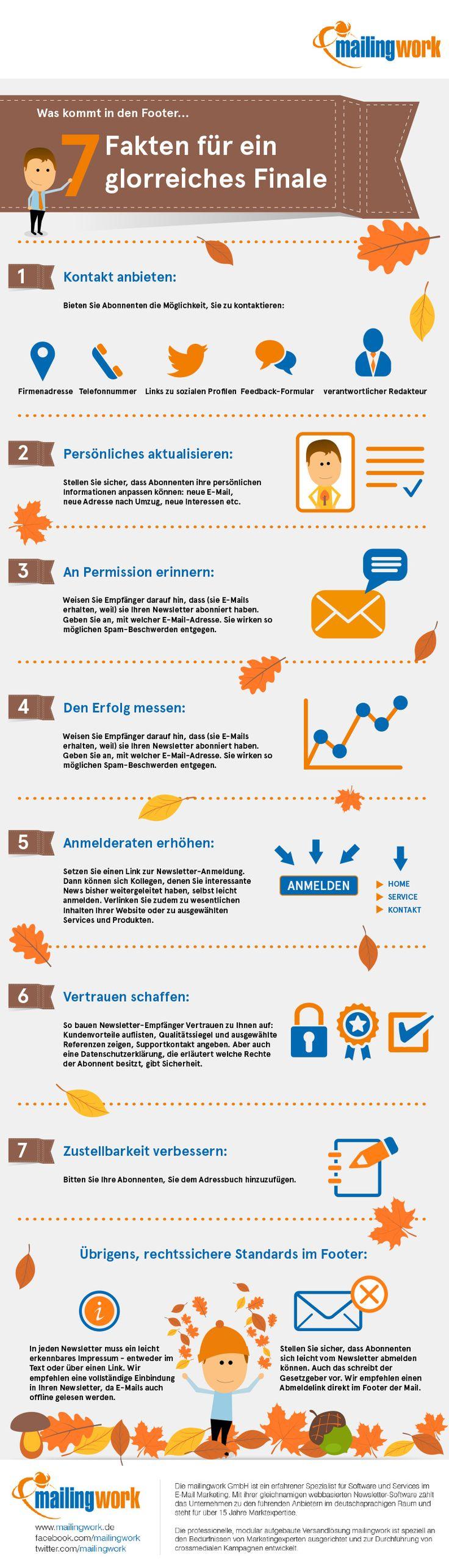 Der Footer – 7 Fakten für ein glorreiches Finale www.mailingwork.de