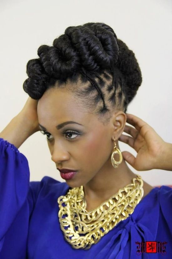 Superb 1000 Images About Wedding Hairstyles Locs Braids Amp Twists On Short Hairstyles Gunalazisus