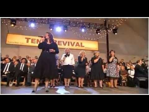 "Lets go down to the River to Pray   Gaither Tent Revival  -  Charlotte Ritchie, Sonja Isaacs, Janet Paschel, Karen Peck, Becky Isaacs, Tanya Goodman, Stephen Hill.  ALISON KRAUSS LYRICS    ""Down To The River To Pray""     As I went down in the river to pray   Studying about that good ol' way   And who shall wear the starry crown?   Good Lord show me the..."