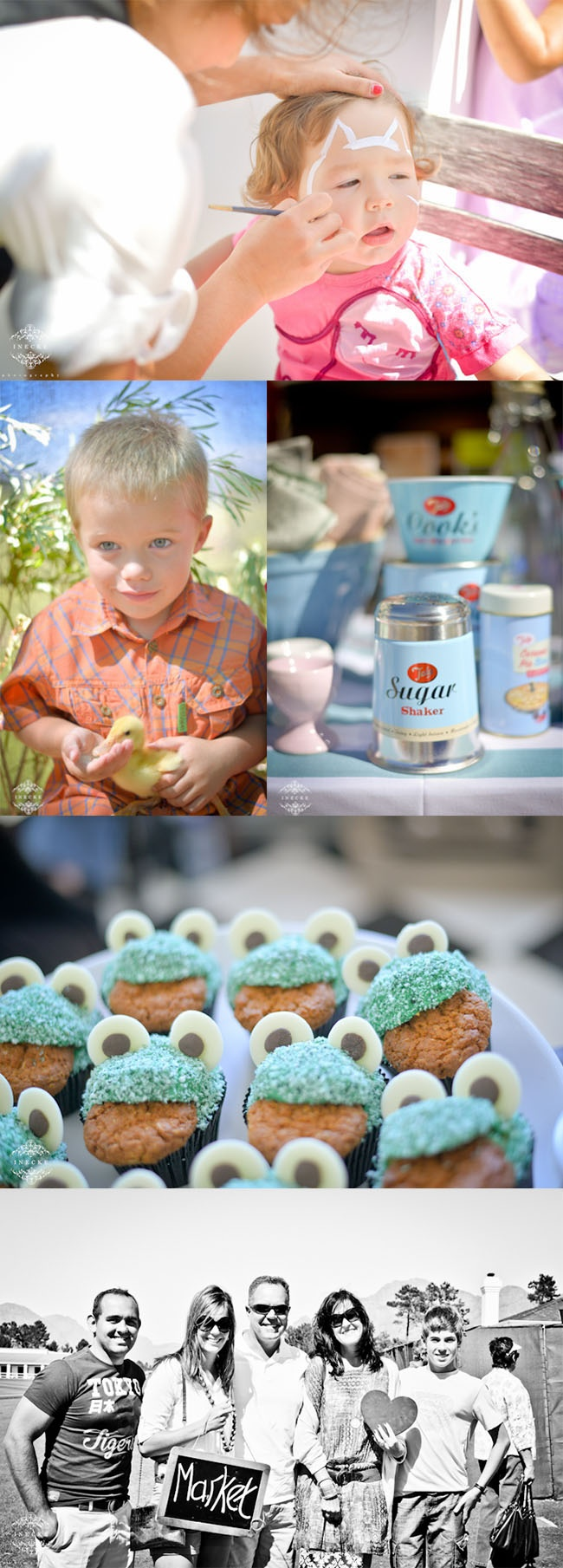 Face paint and farm animals for children to enjoy. Of course something for the sweet tooth too. @valdevieestate #market