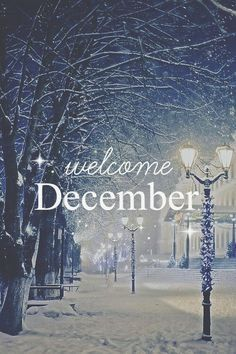 Welcome December , Welcome Friends