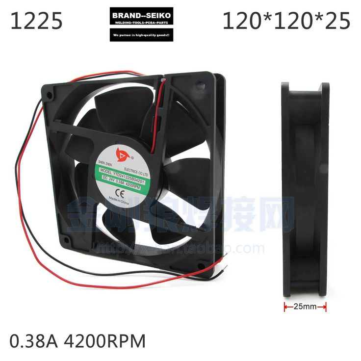 31.99$  Watch now - http://aliz76.shopchina.info/go.php?t=32627185872 - Inverter Welding Machine Thin Section High Speed Cooling Fan 1225 0.38a Dc24 4200 31.99$ #magazineonlinewebsite