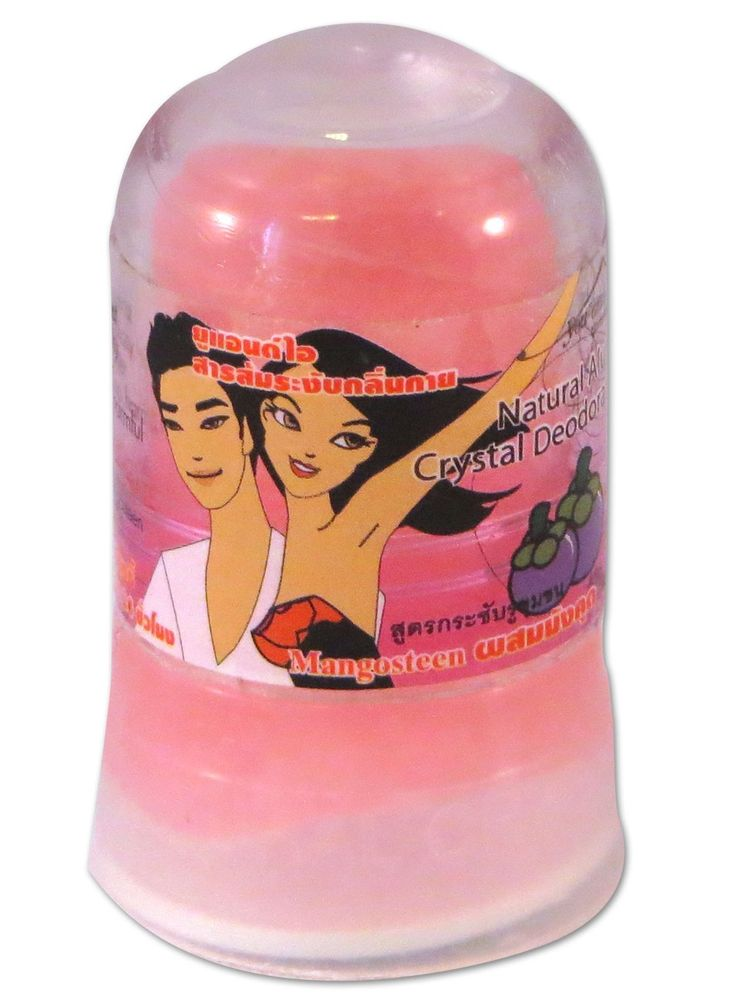 Aluin 100% Natuurlijke deostick anti transpirant - mangosteen