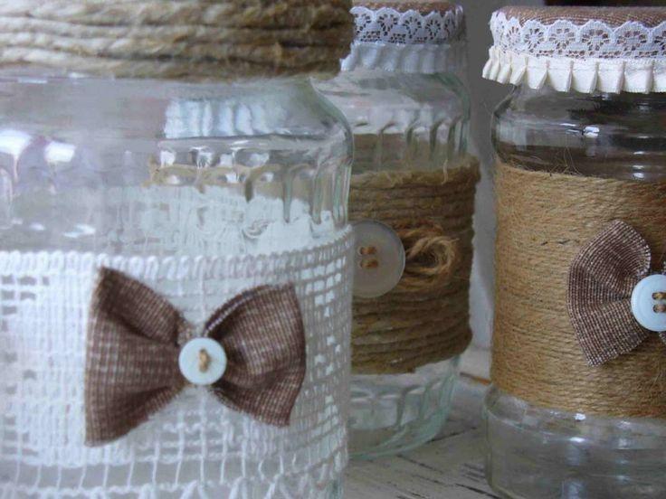 17 migliori idee su decorare barattoli di vetro su for Come decorare lo stile vittoriano