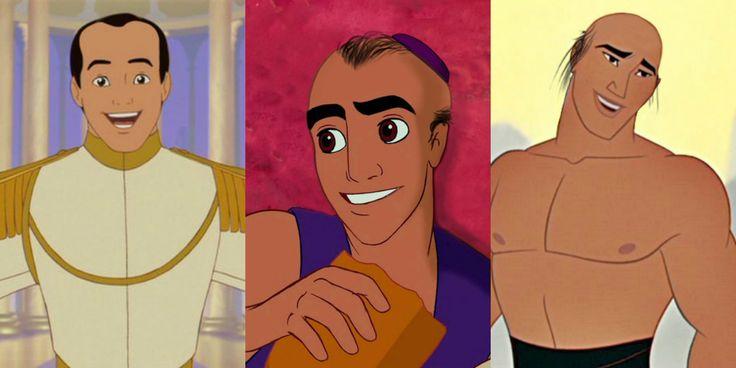 Como seriam os príncipes da Disney se fossem carecas? | SAPO Mag
