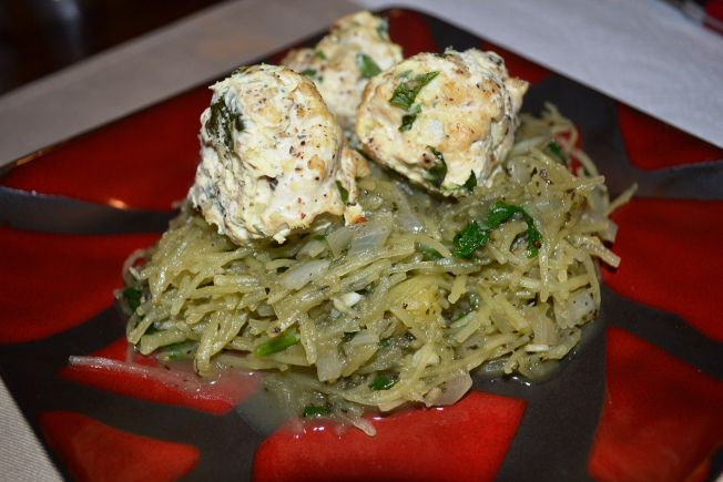 Turkey Meatballs and Spaghetti Squash