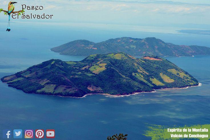 #EspiritudelaMontaña  ubicado en el #VolcandeConchagua es un lugar mágico y con un clima excelente. a 1200 metros sobre el nivel del mar, te deja ver todo el #GolfodeFonseca incluyendo Nicaragua y Honduras. #HazTurismo #PaseoElSalvador
