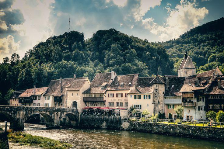 https://flic.kr/p/f5tbAz   St.Ursanne   Kanton Jura of Switzerland