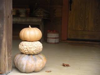 pumpkins on my porch