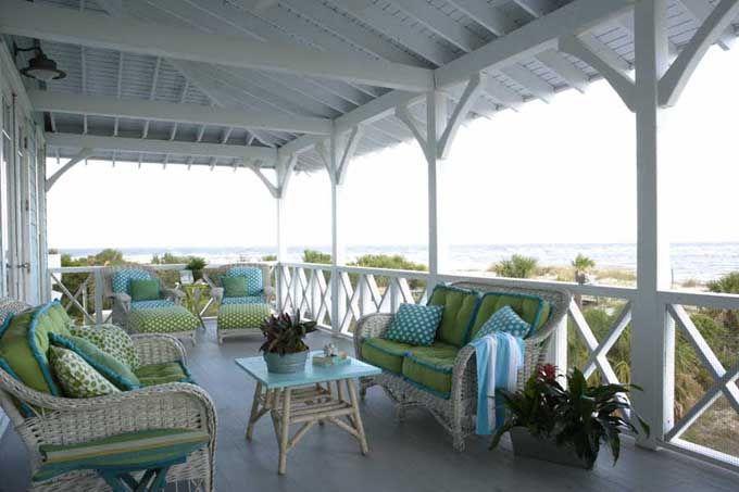 Jane Coslick / Coastal Living green/ blue