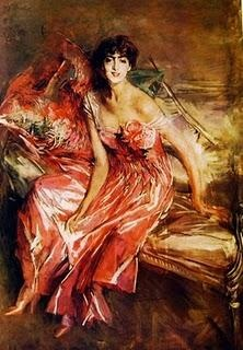 La signora in rosa (marchesa Olivia Choncha De Fontecilla) Giovanni Boldini, 1916