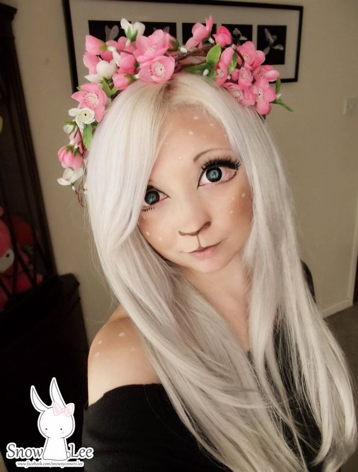 Deer makeup by snowlee123