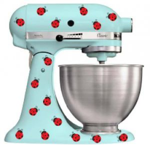 kitchen aid my most desired kitchen appliance especially when it has lady beetles on it too. Black Bedroom Furniture Sets. Home Design Ideas