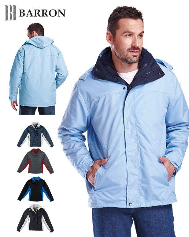 Mens 3-in-1 jacket - Barron Clothing Distributors