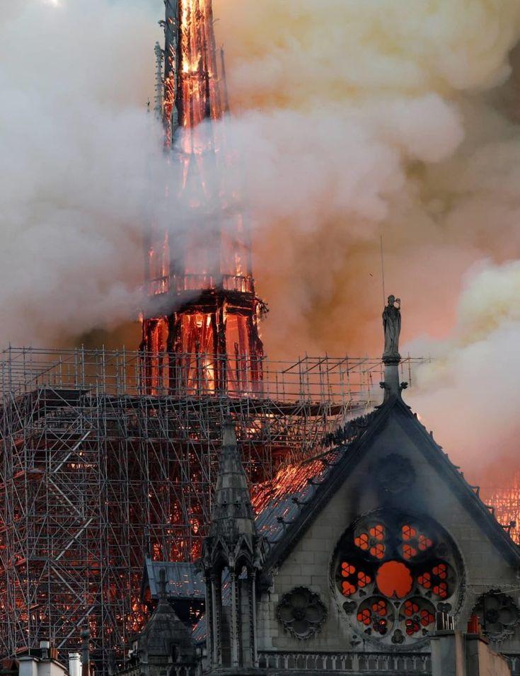 Fire devastates NotreDame Cathedral in Paris (Update 6