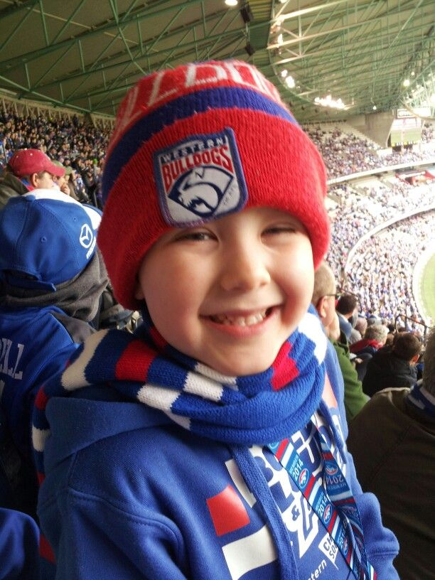 Going to the footy with Daddy is my favourite thing!