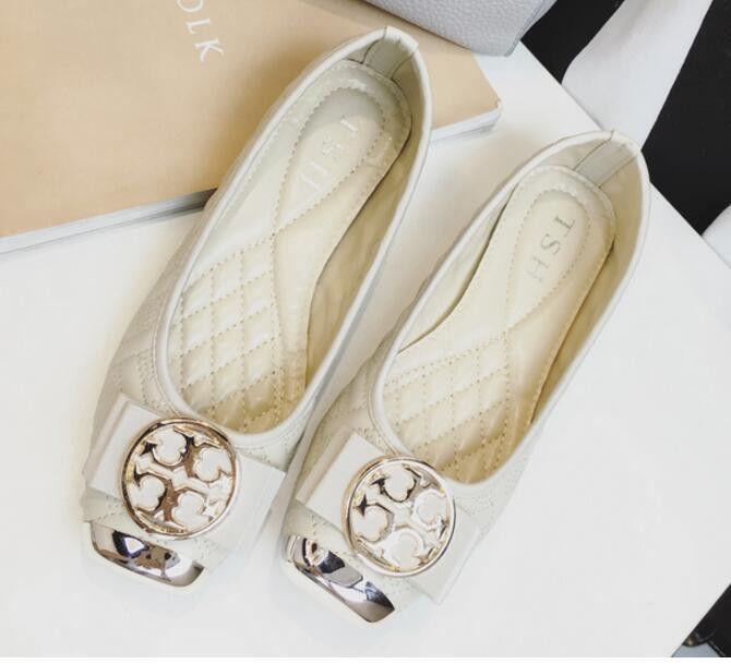 2017 Brand Women flat Loafers Dress Shoes elegant bow Shoes women's shoes chaussure femme princess Shoes Slip On Ballets Flats