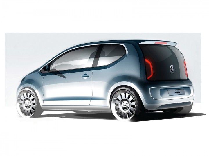 Volkswagen Up Design Sketch