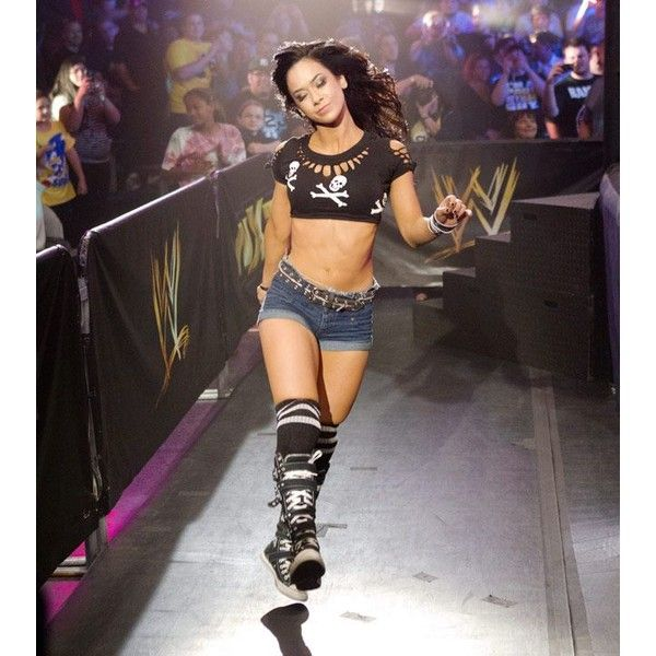 The career of AJ Lee Pics - Wrestling Forum : WWE, TNA, Indy... ❤ liked on Polyvore featuring wwe