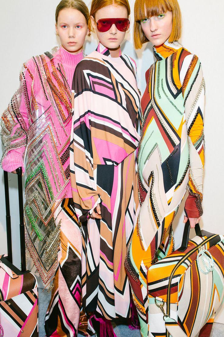 Emilio Pucci; patterns, colors