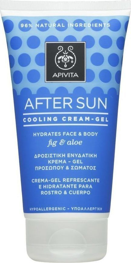 Details About Apivita Suncare After Sun Cooling Cream Gel With Fig