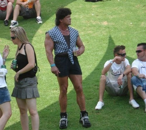 Doing his thing.: Funny Image, Funny Pictures, Crazy People, Funny Clothing, Cute Shorts, Funny Photos, Fashion Tips, Funny People, Hilarious Photos