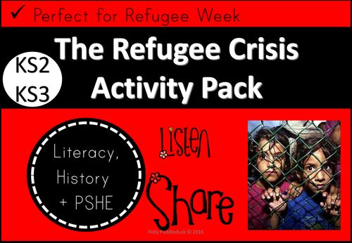 The Refugee Crisis is still ongoing. Have you covered it with your students? If not, you need to!